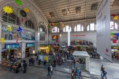 Środkowy dworzec w Bremen Zdjęcia Stock