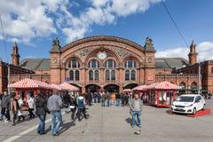 Środkowy dworzec w Bremen Fotografia Royalty Free