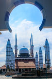 Środkowy Jawa Uroczysty meczet fotografia royalty free