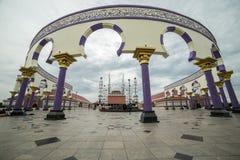 Środkowy Jawa Wielki meczet jako duży meczet w Środkowym Jawa, Indonezja Lipiec 2018 obrazy stock