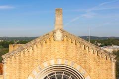 Środkowy kościół prezbiteriańskiego szczegół Fotografia Royalty Free