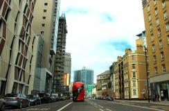Środkowy Londyński uliczny widok Anglia Zdjęcia Royalty Free