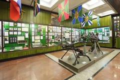 Środkowy muzeum rabatowi oddziały wojskowi Zdjęcia Royalty Free