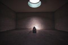 Środkowy pomnik dla ofiar wojna i tyrania w Berlin obrazy royalty free