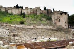Środkowy Romański teatr Zdjęcie Stock