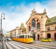 Środkowy rynek Hall, Budapest, Węgry, Europa Fotografia Royalty Free