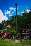Środkowy słup Gwatemala - taniec ulotki - Obrazy Stock