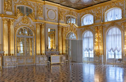środkowy sala balowa pałac s Zdjęcia Royalty Free