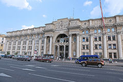 Środkowy urząd pocztowy w Minsk obrazy stock