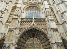 Średniowieczna katedra w Antwerp Fotografia Stock