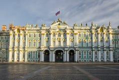 Wejście zima pałac Zdjęcie Royalty Free