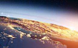 Środkowy Wschód wschód słońca obrazy stock