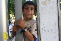 Środkowy Wschód uchodźcy zdjęcia royalty free