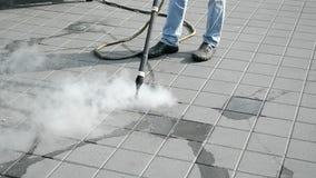 Środowiska cleaning z gorącą kontrparą, zdjęcie wideo