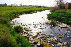 Środowiska zanieczyszczenie fotografia royalty free