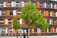 Środowisko i kolorowa fasada Federacyjna środowisko agencja obraz royalty free