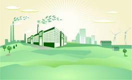 środowisko zdrowy royalty ilustracja