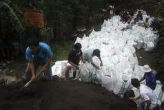 ŚRODOWISKOWA katastrofy szkody powódź Zdjęcia Stock