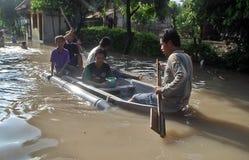 ŚRODOWISKOWA katastrofy szkody powódź Zdjęcie Stock
