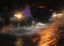 ŚRODOWISKOWA katastrofy szkody powódź Fotografia Royalty Free