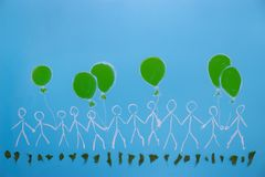 Środowiskowy aktywisty pojęcie obraz royalty free