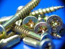 Śrubowy close-up Zdjęcie Stock