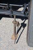 śrubowy dźwigarka rocznik Obraz Stock