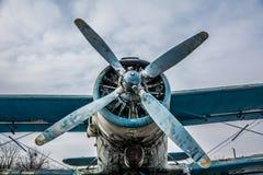Śrubowy samolot obrazy royalty free