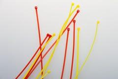 Śruby dla sieć kabli fotografia stock