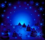 świąteczną noc Obraz Royalty Free