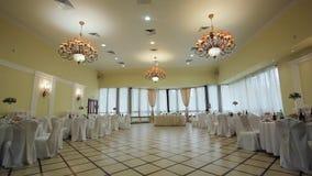 Świąteczna bankiet sala zdjęcie wideo