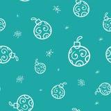 Świąteczna Bożenarodzeniowa dekoracja dla strony internetowej, ogólnospołecznych sieci, blogu lub twój wideo kanału, Lekki bezszw ilustracji