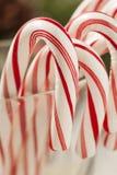 Świąteczna Bożenarodzeniowa Miętowego cukierku trzcina Zdjęcia Royalty Free
