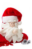 Świąteczna czerwona skarpeta Obraz Royalty Free