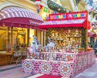 Świąteczna dekoracja Główny Ogólnoludzki sklep obraz royalty free