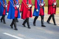 Świąteczna Militarna parada Obraz Royalty Free