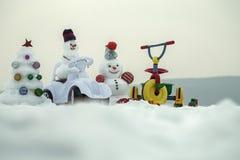 Świąteczna niespodzianka i teraźniejszość obrazy royalty free
