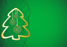 świąteczna tło zieleń Fotografia Stock