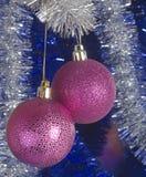 Świąteczne choinek dekoracje Zdjęcie Stock