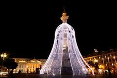 świąteczne lampki Zdjęcia Stock