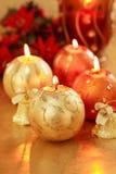 świąteczne lampki Zdjęcie Stock