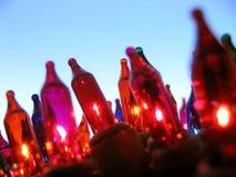 świąteczne lampki Fotografia Stock