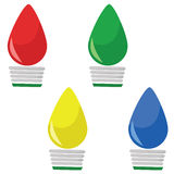 świąteczne lampki odłogowania Zdjęcie Stock