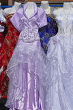 Świąteczne suknie Fotografia Stock