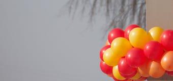 Świąteczni ballons obraz stock