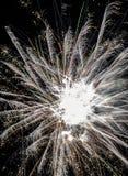 świąteczni fajerwerki zdjęcia stock