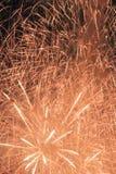 Świąteczni fajerwerki w niebie Obraz Stock