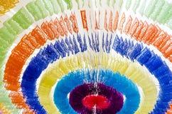 Świąteczni kolorowi sztandary fotografia stock