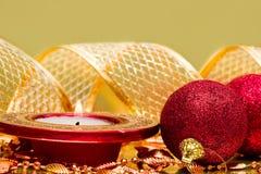 świąteczny świeczka nowy rok obraz royalty free