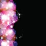 świąteczny abstrakcjonistyczny tło Zdjęcia Royalty Free